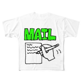 メルくん Full graphic T-shirts