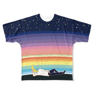 新月 Full graphic T-shirts