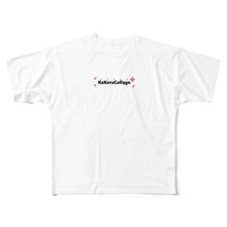 かけるこらTシャツ Full graphic T-shirts
