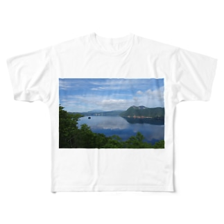 夢の摩周湖 Full graphic T-shirts