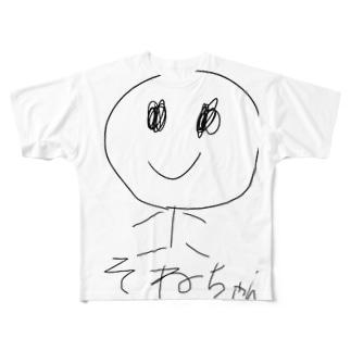 曽根ちゃん Full graphic T-shirts