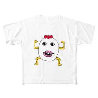 マルス Full graphic T-shirts