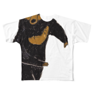 マレーグマ フルグラフィックTシャツ