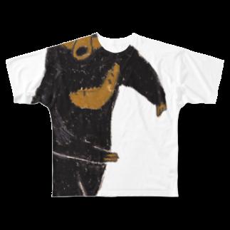アコルのマレーグマ フルグラフィックTシャツ