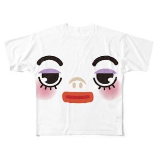みぎ Full graphic T-shirts