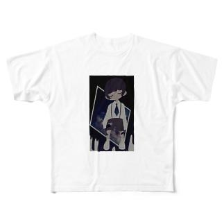 うちう Full graphic T-shirts
