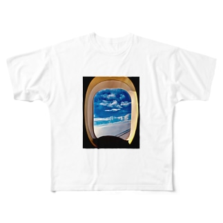 旅立ちの日に Full graphic T-shirts
