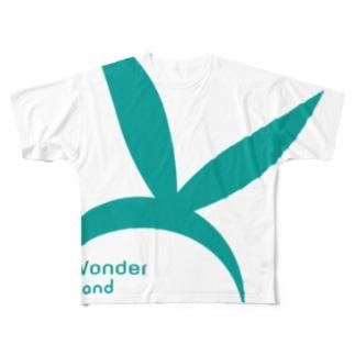 Wonder Land Full graphic T-shirts
