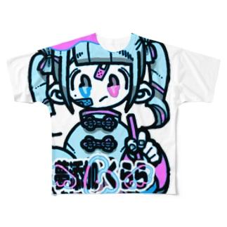 夢添加くらら2号 Full graphic T-shirts