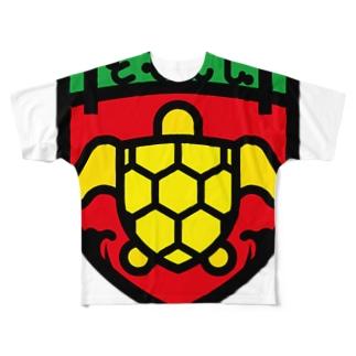 パ紋No.3397 ともみん  Full graphic T-shirts