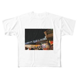 祭り Full graphic T-shirts