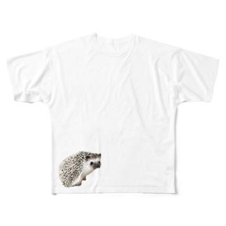 ゆこっとハリボー Full graphic T-shirts