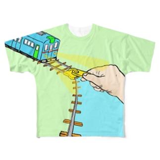 ふぁすなー Full graphic T-shirts