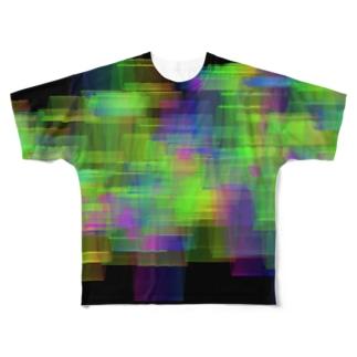 Waves01 フルグラフィックTシャツ