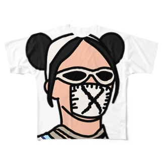 FUNKY FUNNY  Full graphic T-shirts