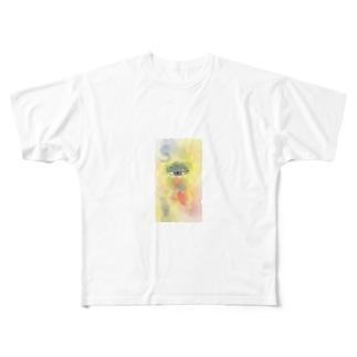 メ【1】 Full graphic T-shirts