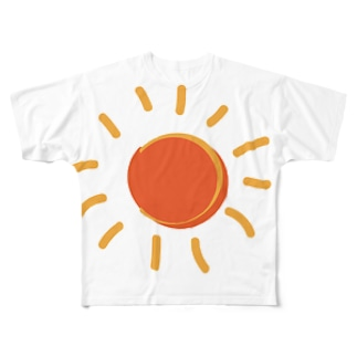 真夏の太陽 Full graphic T-shirts