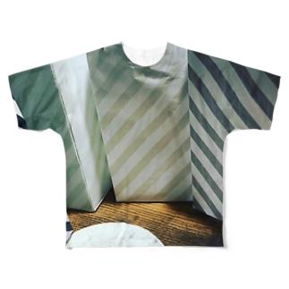 イケてるミドリが好き Full graphic T-shirts