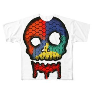 骨喰 Full graphic T-shirts