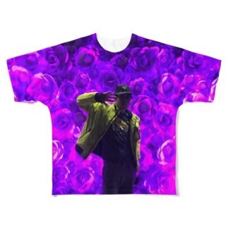 スズキ鼎 Full graphic T-shirts