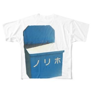 鉄道『ノリホ』 Full graphic T-shirts