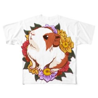 ベビーモルモット01 Full graphic T-shirts