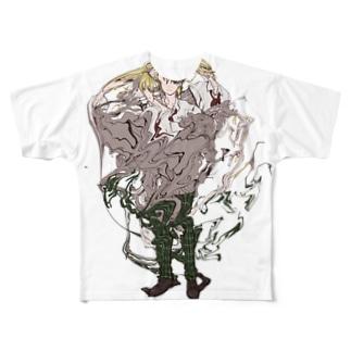 (^.^)(^.^) Full graphic T-shirts