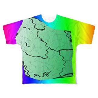 MAPたん4 Full graphic T-shirts