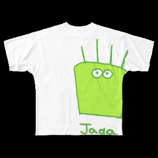 jagarinxxxのじゃが Full graphic T-shirts