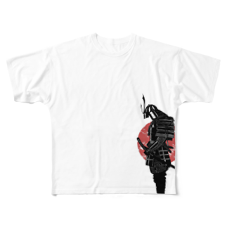 T&M のT&K THE SAMURAI Full graphic T-shirts