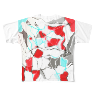 水草の金魚1 Full graphic T-shirts