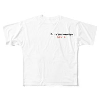 これまたスイカのおかわり Full graphic T-shirts
