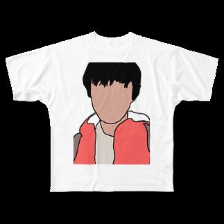 影の影山のグッズ Full graphic T-shirts