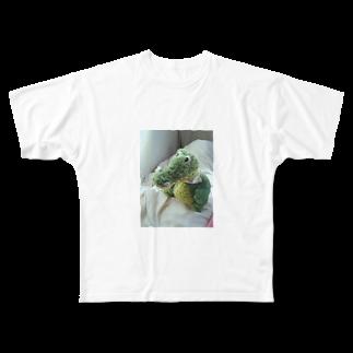 __aiceriseのわにのすけ Full graphic T-shirts