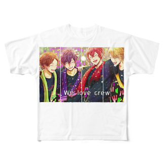 kaneki0708の浦島坂田船  SAILING!!  Full graphic T-shirts