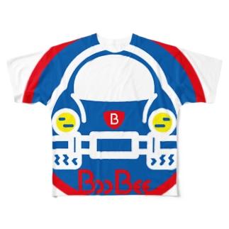 パ紋No.3403 BooBee  Full graphic T-shirts