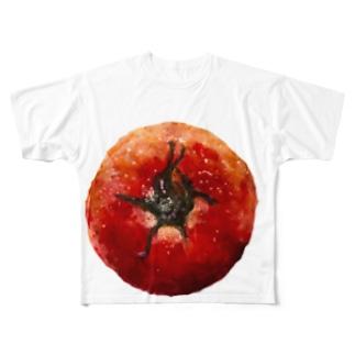トメィトゥ-ちゃん Full graphic T-shirts