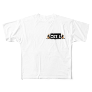 muxuのCET:2 ミケ Full graphic T-shirts