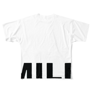 Boneless MilfのMILF the standerd Full graphic T-shirts