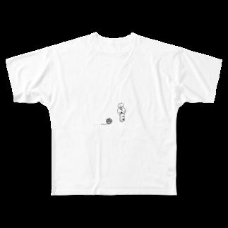 なるのいったいあなたはどこから来たの Full graphic T-shirts