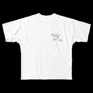 なるのありのままで Full graphic T-shirts
