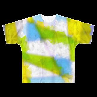 水草の窓 Full graphic T-shirts
