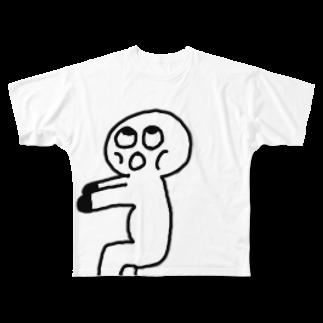 Venizakuraのくうきいすくん Full graphic T-shirts
