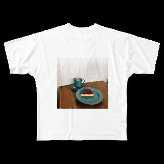 y_toniのtarte Full graphic T-shirts
