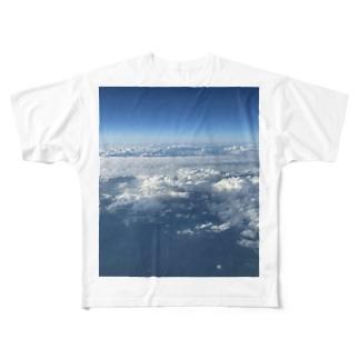 上の空 Full graphic T-shirts