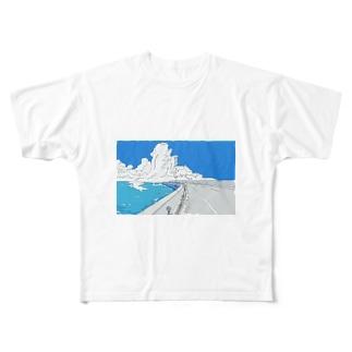 拝啓、あの日の凪へ Full graphic T-shirts