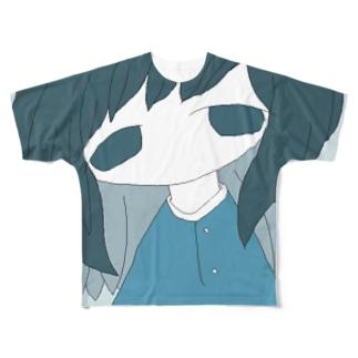 梅雨の夕暮れ-彩度低下ver- Full graphic T-shirts