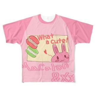 女児服風大人用Tシャツ Full graphic T-shirts