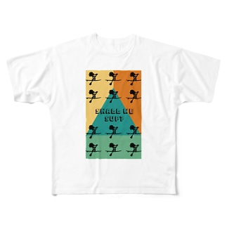Surf de Shall we SUP? Full graphic T-shirts
