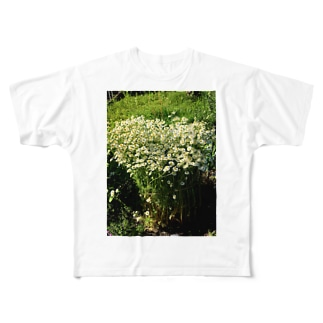 rockysunlight flower Full graphic T-shirts